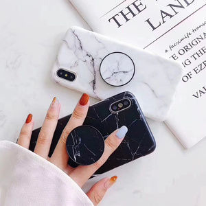 NEW iPhone 12/11/Pro/Max/XR/7/8 Marble W/ Holder